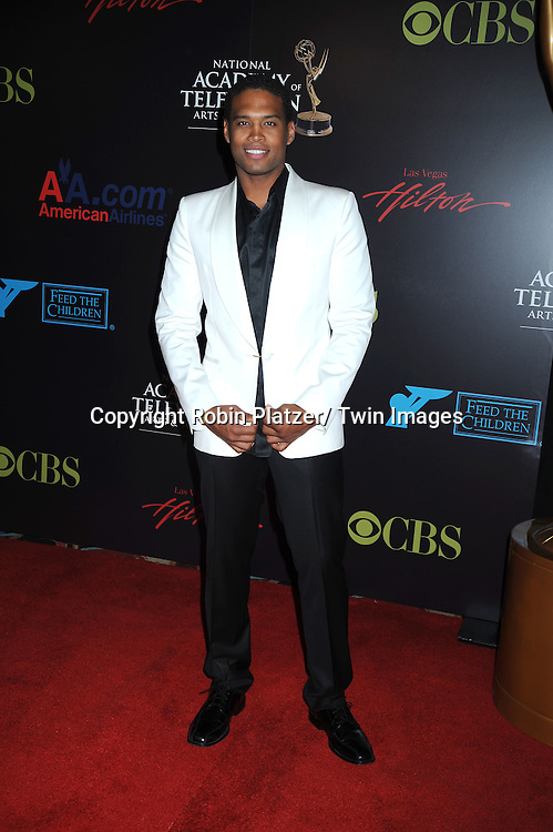 Texas Battle arriving at the 37th Annual Daytime Emmy Awards at The Hilton in Las Vegas in Nevada on June 27, 2010