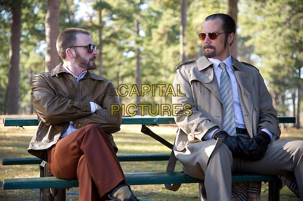 CHRIS EVANS, MICHAEL SHANNON<br /> in The Iceman (2012) <br /> *Filmstill - Editorial Use Only*<br /> CAP/FB<br /> Supplied by Capital Pictures