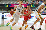 07.09.2014. Barcelona, Spain. 2014 FIBA Basketball World Cup, round of 8. Picture show A. Juskevicius in action during game between Lithuania v Turkey at Palau St. Jordi.