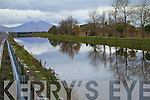 The Canal between Tralee and Blennerville at high tide.