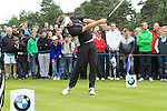 Jose Manuel Lara (ESP) tees off on the 11th tee during Day 3 of the BMW PGA Championship Championship at, Wentworth Club, Surrey, England, 28th May 2011. (Photo Eoin Clarke/Golffile 2011)