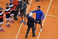 Fabio Fognini e Nicola Pietrangeli Esultanza <br /> Monaco 21/04/2019 Monte Carlo Country Club Panoramica <br /> Tennis Torneo ATP Montecarlo 2019 <br /> Foto Norbert Scanella / Panoramic / Insidefoto <br /> ITALY ONLY