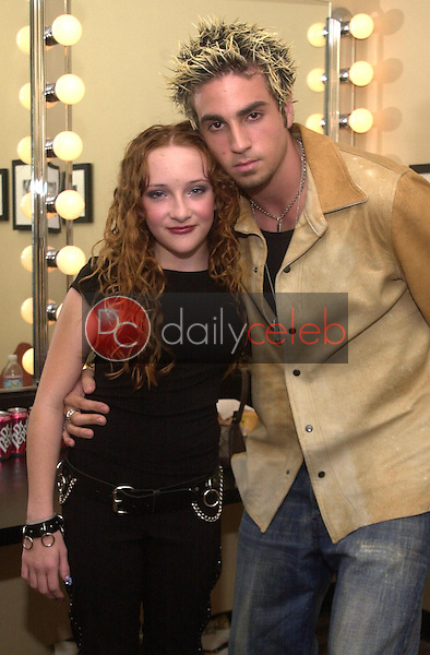 Wade Robson and Scarlett Pomers