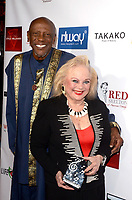 LOS ANGELES - FEB 4:  Louis Gossett Jr., Carol Connors at the 3rd Annual Roger Neal Style Hollywood Oscar Viewing Dinner at the Hollywood Museum on February 4, 2018 in Los Angeles, CA