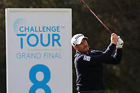 Jose-Filipe Lima (POR) on the 8th tee during Round 2 of the Challenge Tour Grand Final 2019 at Club de Golf Alcanada, Port d'Alcúdia, Mallorca, Spain on Friday 8th November 2019.<br /> Picture:  Thos Caffrey / Golffile<br /> <br /> All photo usage must carry mandatory copyright credit (© Golffile | Thos Caffrey)