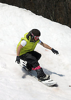 Snowboard and skiing at Wintergreen resort in Nelson County, Va.  Credit Image: © Andrew Shurtleff
