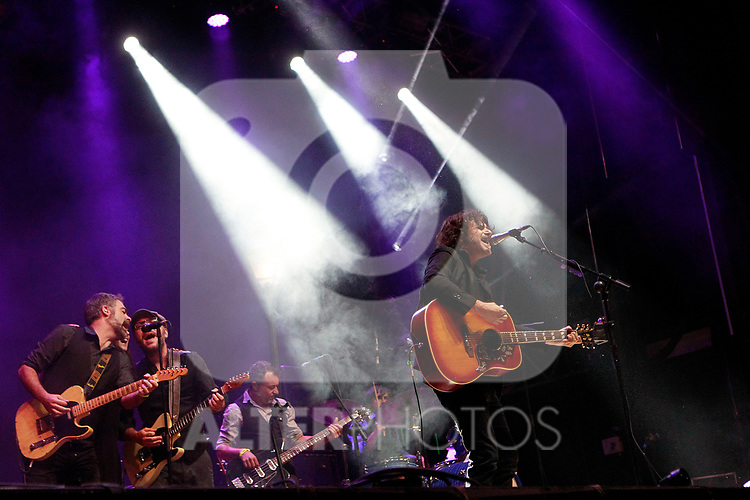 Palencia Sonora Festival. Quique Gonzalez. June 9, 2017. (ALTERPHOTOS/Acero)