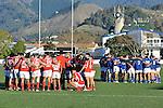 Nelson Bays Griffins v Marlborough Red Devils, Trafalgar Park, Nelson, New Zealand. <br /> Monday 2 June 2014.<br /> Photo: Barry Whitnall/www.shuttersport.co.nz