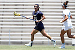 CHAPEL HILL, NC - MAY 20: Navy's Jenna Collins. The University of North Carolina Tar Heels hosted the U.S. Naval Academy Midshipmen on May 20, 2017, at Fetzer Field in Chapel Hill, NC in an NCAA Women's Lacrosse Tournament Quarterfinal match. Navy won the game 16-14.