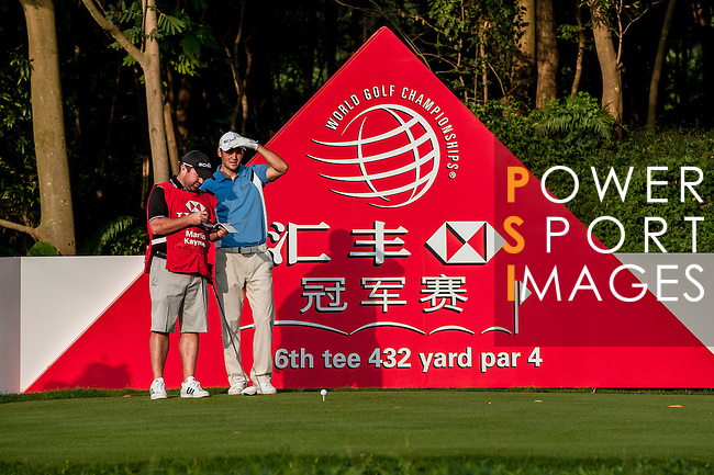Players in action during Pro-Am ahead the WGC HSBC Champions at the Mission Hills Resort on October 31, 2012, in Shenzhen China. Photo by Xaume Olleros / The Power of Sport Images for Mission Hills