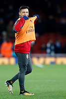 Alexis Sanchez of Arsenal during the Premier League match between Arsenal and Huddersfield Town at the Emirates Stadium, London, England on 29 November 2017. Photo by Carlton Myrie / PRiME Media Images.