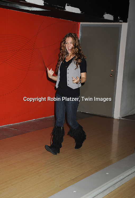"BethAnn Bonner..at The Fifth Annual ""Daytime Stars and Strikes"" for The American Cancer Society on September 28, 2008 at The Port Authority Bowling Alley. Jerry verDorn and Liz Keifer were the hosts. ....Robin Platzer, Twin Images"