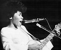 Joan Armatrading,1977<br /> <br /> <br /> Photo : Griffin, Doug