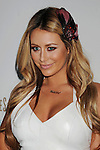 "MARINA DEL REY, CA. - September 27: Aubrey O'Day  arrives at the ""Beautiful Eyes"" By Frownies Launch Party at the FantaSea Yacht Club on September 27, 2010 in Marina Del Rey, California."