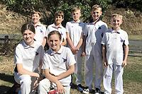 Rams. Eastern Suburbs Cricket Club Junior Team Photos, Wellington, New Zealand. March 2020. Back row, from left: Salve Bale, James Karaitiana, Toby Randall, Gene McNaughton, Hadley Moore; front, Annie McKirdy, Sophie Poa.