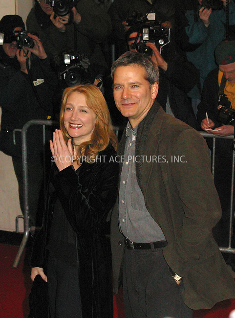 "Campbell Scott and Patricia Clarkson arrive at the New York Premiere of ""The Hours."" New York, December 15, 2002. Please byline: Alecsey Boldeskul/NY Photo Press.   ..*PAY-PER-USE*      ....NY Photo Press:  ..phone (646) 267-6913;   ..e-mail: info@nyphotopress.com"