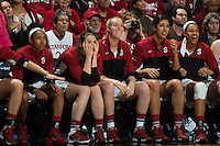 STANFORD, CA - The Stanford Cardinal takes on North Carolina in the Stanford Regional Finals at Maples Pavilion.  Stanford advances to the Final Four 74-65 over the TarHeels.