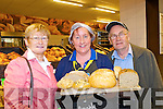 Sheila and Noel Browne try the bread at the new bakery at the reopnening of Lidl in Killarney on Thursday