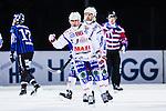Uppsala 2013-11-13 Bandy Elitserien IK Sirius - IFK Kung&auml;lv :  <br /> Kung&auml;lv Fredrik Johansson jublar efter att ha kvitterat till 1-1<br /> (Foto: Kenta J&ouml;nsson) Nyckelord:  jubel gl&auml;dje lycka glad happy