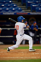 St. Lucie Mets Cody Bohanek (10) during a Florida State League game against the Florida Fire Frogs on April 12, 2019 at First Data Field in St. Lucie, Florida.  Florida defeated St. Lucie 10-7.  (Mike Janes/Four Seam Images)