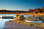 Sunrise on the Mill Creek Marsh in Sandwich, Cape Cod, MA, USA