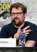 SAN DIEGO COMIC-CON© 2019: 20th Century Fox Television and Hulu's Solar Opposites Co-Creator/Executive Producer Justin Roiland during the SOLAR OPPOSITES panel on Friday, July 19 at the SAN DIEGO COMIC-CON© 2019. CR: Frank Micelotta/20th Century Fox Television