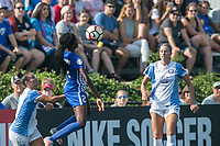 Allston, MA - Saturday August 19, 2017: Ali Krieger, Ifeoma Onumonu during a regular season National Women's Soccer League (NWSL) match between the Boston Breakers and the Orlando Pride at Jordan Field.