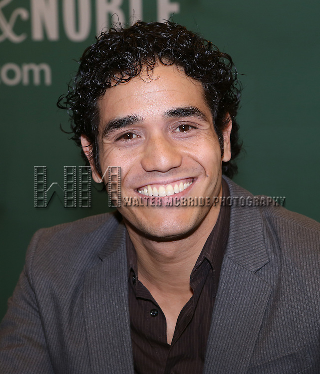 Adan Jacobs attends the 'Aladin' Broadway Cast CD Signing at Barnes & Noble Citigroup Center on June 20, 2014 in New York City.