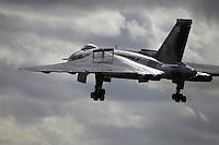 Avro Vulcan cold war jet bomber XH 558