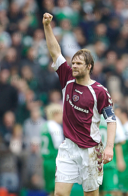 Steven Pressley, Hearts.stock season 2006-2007.pic willie vass
