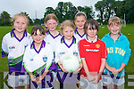 New friendships were formed at Currow GAA Cu?l Camp at Currow GAA grounds last week. .Back L-R Gra?inne Walsh, Anna Fitzgerald, Grace Daly and Madison Kelly .Front L-R Maeve Leane, Maria Daly and Lauren Butler