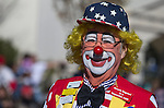 A clown with the R&amp;R's participates in the annual Nevada Day parade in Carson City, Nev. on Saturday, Oct. 29, 2016. <br /> Photo by Cathleen Allison