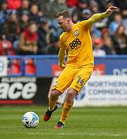 Preston North End's Aidan McGeady scores the opening goal <br /> <br /> Photographer Alex Dodd/CameraSport<br /> <br /> The EFL Sky Bet Championship - Huddersfield Town v Preston North End - Friday 14th April 2016 - The John Smith's Stadium - Huddersfield<br /> <br /> World Copyright &copy; 2017 CameraSport. All rights reserved. 43 Linden Ave. Countesthorpe. Leicester. England. LE8 5PG - Tel: +44 (0) 116 277 4147 - admin@camerasport.com - www.camerasport.com