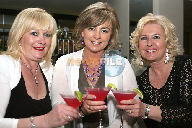 Marie Traynor, Marie Connell and Lorraine Mulroy in the D Hotel...Photo NEWSFILE/Jenny Matthews.(Photo credit should read Jenny Matthews/NEWSFILE)....This Picture has been sent you under the condtions enclosed by:.Newsfile Ltd..The Studio,.Millmount Abbey,.Drogheda,.Co Meath..Ireland..Tel: +353(0)41-9871240.Fax: +353(0)41-9871260.GSM: +353(0)86-2500958.email: pictures@newsfile.ie.www.newsfile.ie.FTP: 193.120.102.198.