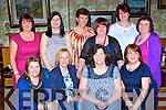Girls just want to fun from the class of 85 in Killarney Tech who held a reunion in the Bricin restaurant on Tuesday front row l-r: Aine Murphy, Louise Doyle, Doreen Cronin, Marian O'Brien. Back row: Kathleen Wheldon, Kathleen Moriarty, Deloras Kelly, Mary Morris, Eileen Griffin and Mary Casey