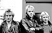 1978: THE POLICE - Photosession in London