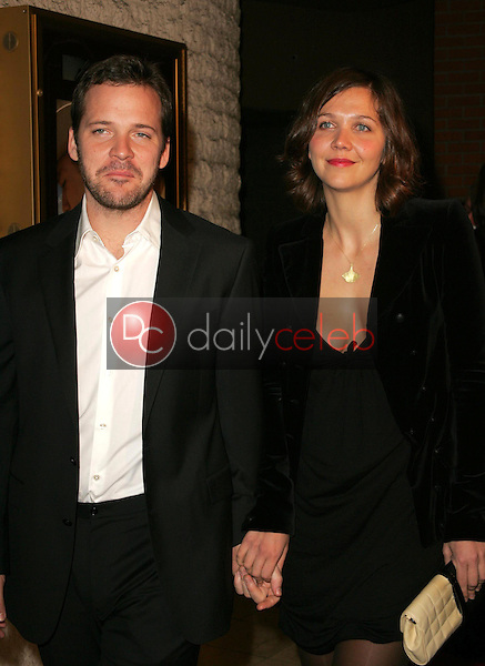 Maggie Gyllenhaal and Peter Sarsgaard<br />