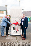 Athea Defibrillator Telephone Box: Launching the Athea Defibrillator Teelphone Box on Sunday in Athea were Cllrs. Liam Galvin,Francis Foley, Seamus Browne & John Sheehan.