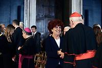 Roma,10 Giugno 2017<br /> Valeria Fedeli<br /> Papa Francesco in visita al Quirinale