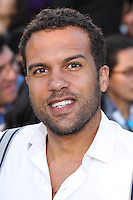 """WESTWOOD, LOS ANGELES, CA, USA - MARCH 18: O.T. Fagbenle at the World Premiere Of Summit Entertainment's """"Divergent"""" held at the Regency Bruin Theatre on March 18, 2014 in Westwood, Los Angeles, California, United States. (Photo by Xavier Collin/Celebrity Monitor)"""