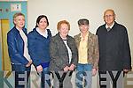 Enjoying the Comhaltas Ceili Concert which took place in the Halla Inse Ban, Templeglantine on Sunday evening were L-R : Joanne O'Connor, Templeglantine, Bridget Morriarty, Newcastle West, Hannah Larkin, Margaret Flynn and Patrick Larkin, Templeglantine.