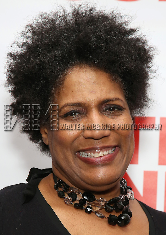"Nancy Giles attends The New Group presents the New York Premiere Opening Night of David Rabe's for ""Good for Otto"" on March 8, 2018 at the Green Fig Urban Eatery,  in New York City."