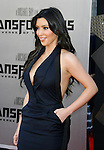 "WESTWOOD, CA. - June 22: Kim Kardashian arrives at the 2009 Los Angeles Film Festival - The Los Angeles Premiere of ""Transformers: Revenge of the Fallen"" at Mann's Village Theater on June 22, 2009 in Los Angeles, California."