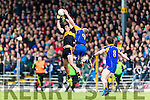 Ambrose O'Donovan Dr Crokes in action against Peter O'Shea Kenmare District in the Senior County Football Championship final at Fitzgerald Stadium on Sunday.