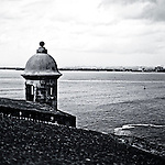 El Morro Fortress overlooking the caribbean old san juan