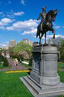 George Washington statue Boston MA