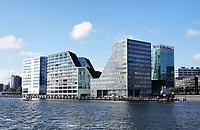 Nederland Amsterdam 2018. Appartementen en kantoren op het IJdock ( IJdok ).   Foto Berlinda van Dam / Hollandse Hoogte