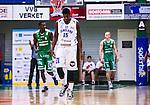 S&ouml;dert&auml;lje 2014-03-25 Basket SM-kvartsfinal 1 S&ouml;dert&auml;lje Kings - J&auml;mtland Basket :  <br /> J&auml;mtlands Brandon Peterson deppar<br /> (Foto: Kenta J&ouml;nsson) Nyckelord:  S&ouml;dert&auml;lje Kings SBBK J&auml;mtland Basket SM Kvartsfinal Kvart T&auml;ljehallen depp besviken besvikelse sorg ledsen deppig nedst&auml;md uppgiven sad disappointment disappointed dejected