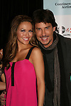 All My Children's Chrishell Stause and Ricky Paull Goldin pose as they attend the after party of ABC and SOAPnet's Salute to Broadway Cares/Equity Fights Aids on March 9, 2009 at the New York Marriott Marquis, New York, NY.  (Photo by Sue Coflin/Max Photos)