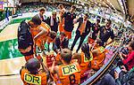 S&ouml;dert&auml;lje 2014-10-01 Basket Basketligan S&ouml;dert&auml;lje Kings - Norrk&ouml;ping Dolphins :  <br /> Norrk&ouml;ping Dolphins Norrk&ouml;ping Dolphins tr&auml;nare head coach Lars Lasse Johansson och Norrk&ouml;ping Dolphins assisterande tr&auml;nare coach Adnan Chuk i aktion under en timeout i matchen<br /> (Foto: Kenta J&ouml;nsson) Nyckelord:  S&ouml;dert&auml;lje Kings SBBK T&auml;ljehallen Norrk&ouml;ping Dolphins tr&auml;nare manager coach